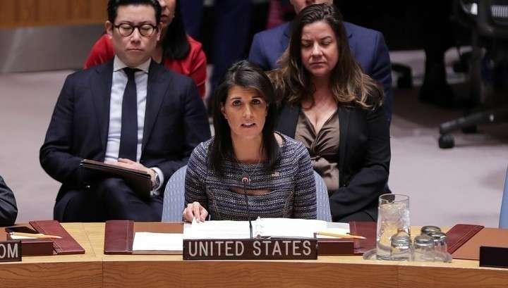 Пиндосы остались в одиночестве при голосовании в СБ ООН