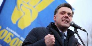 Нацист Олег Тягнибок негодует по поводу капитуляции Украины перед Новороссией