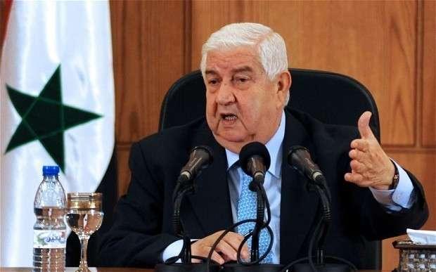Глава МИД Сирии указал пиндосам и другим оккупантам на дверь