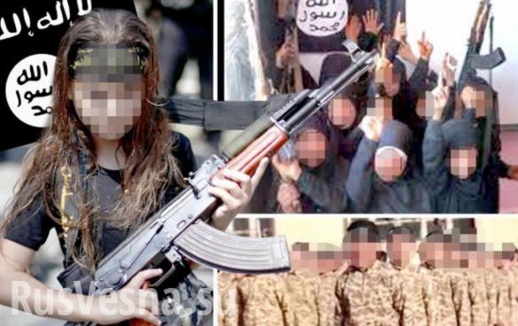 Американские наёмники из ИГИЛ готовили детей-убийц в школе под Дамаском | Русская весна