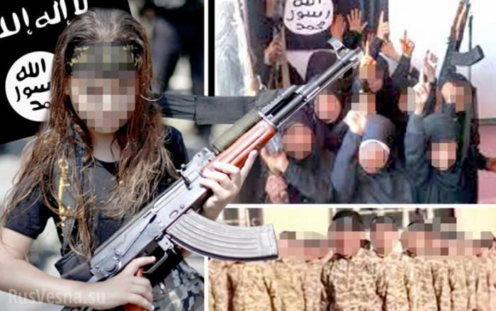 Американские наёмники из ИГИЛ готовили детей-убийц в школе под Дамаском