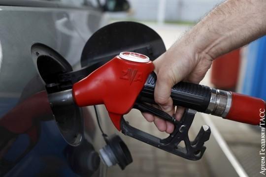 Цены на бензин в России заморозили на время