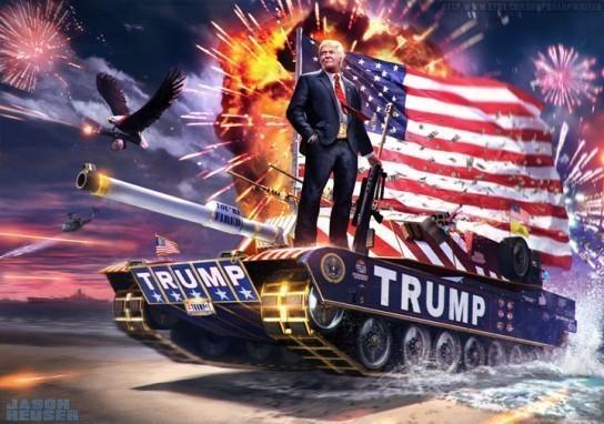 Американское правосудие наделило Трампа правом бомбить суверенные государства