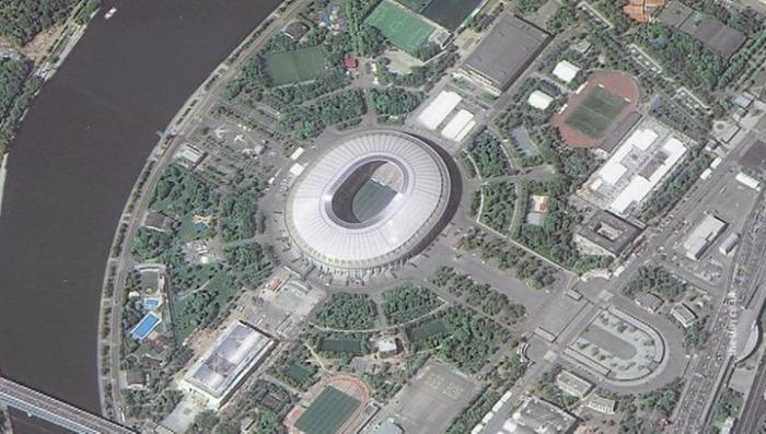Роскосмос опубликовал фотографии 12 стадионов ЧМ-2018