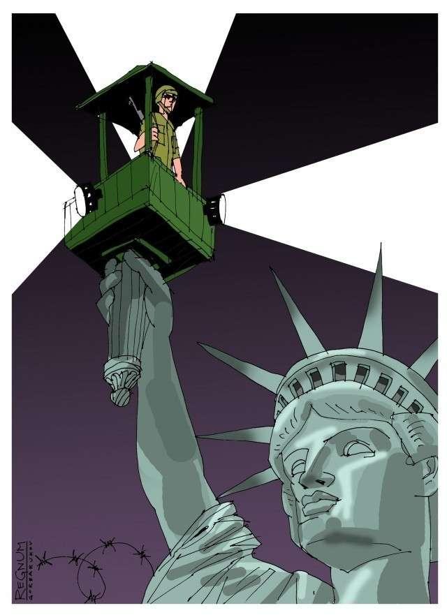 Светоч. Статуя Свободы. США