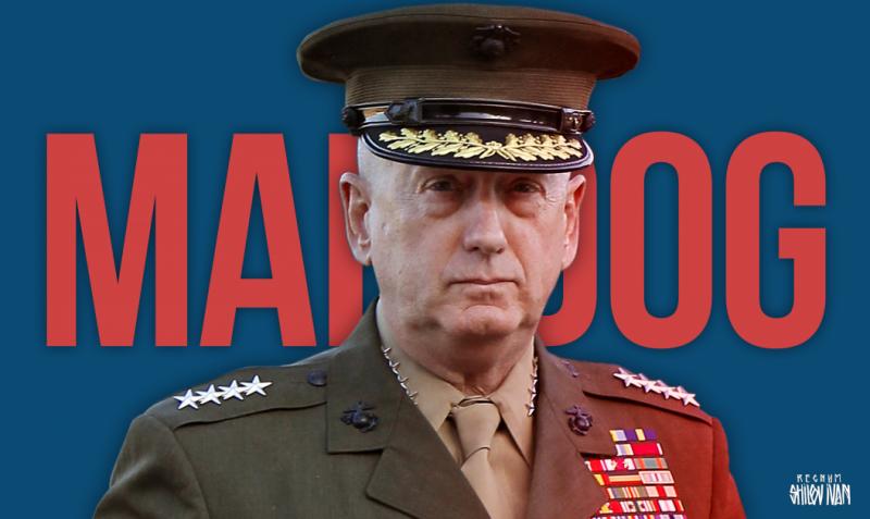 Курс занимательной геополитики от министра обороны США «Бешенного Пса» Мэтиса