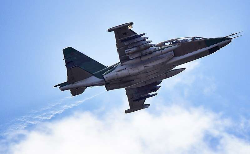 Что значит укрохунтовский Су-25 на границе с Крымом