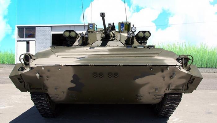 Как из старенькой БМП-2 сделали истребитель танков