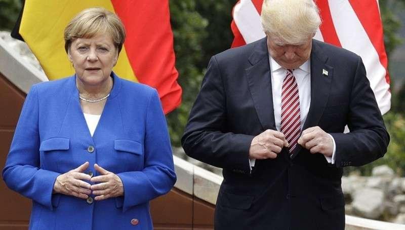 Шантаж Трампа забуксовал Меркель защищает «Северный поток – 2»