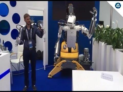 Росатом представил антропоморфного «робота-атомщика»