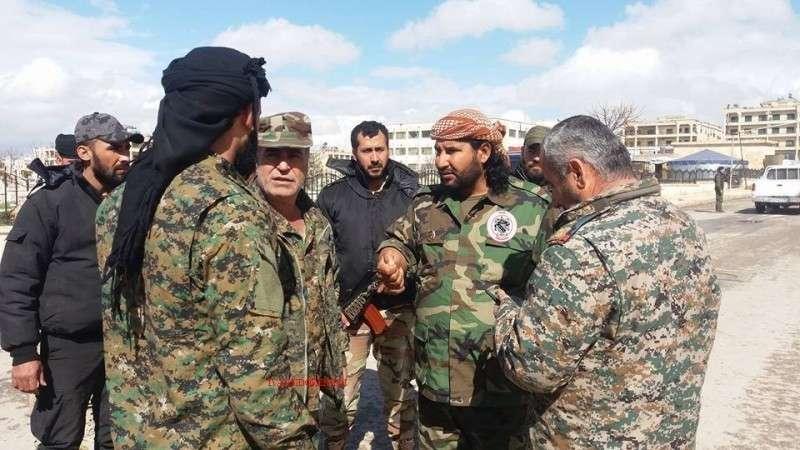 В Сирии формируют вооруженные отряды для борьбы с американскими оккупантами