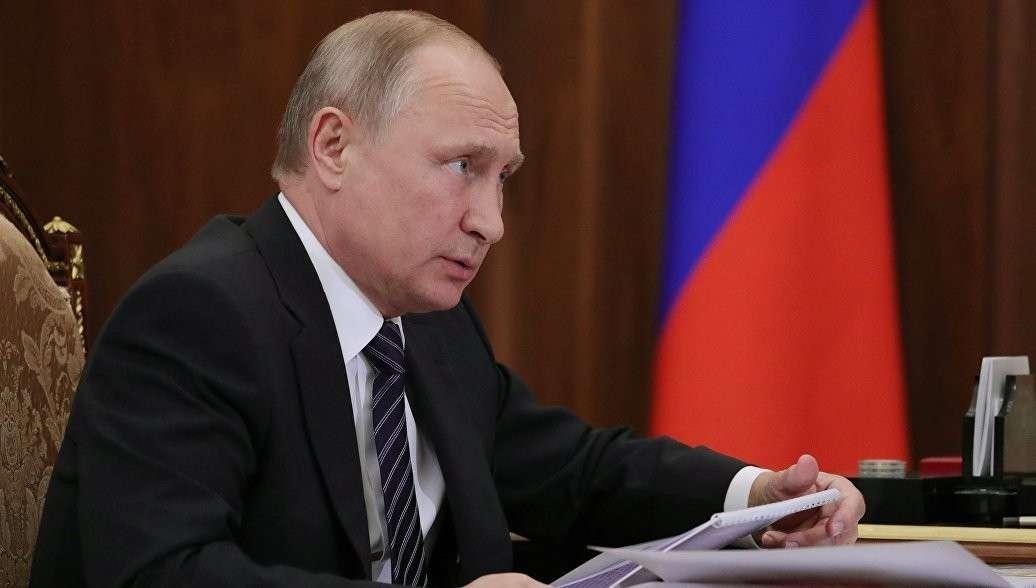 Владимир Путин уволил шестерых генералов