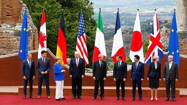 Во Франции предложили исключить диких пиндосов из G7