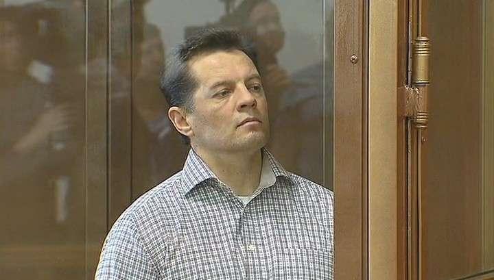 В Москве гражданин Украины Роман Сущенко осуждён на 12 лет за шпионаж