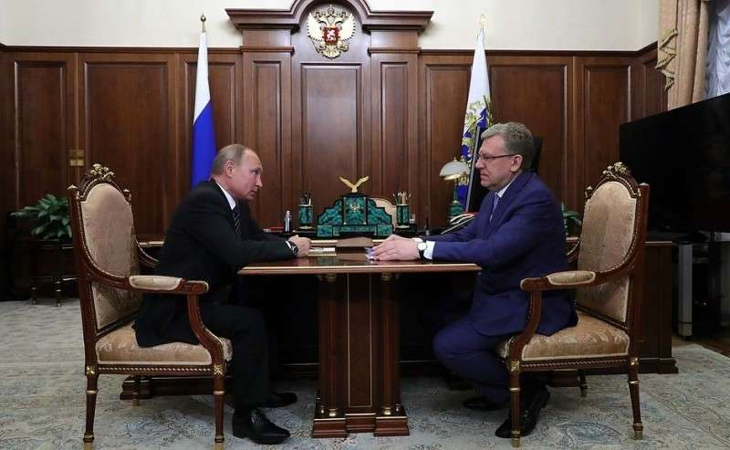 Спредседателем Счётной палаты Алексеем Кудриным.