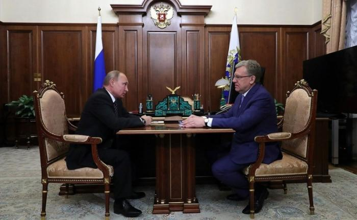 Глава Счётной палаты Алексей Кудрин отчитался перед президентом о первых днях работы