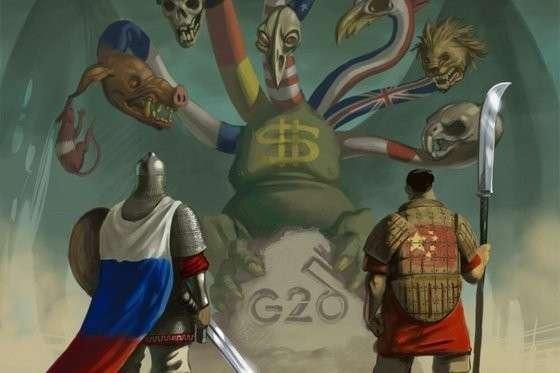 Россия и Китай, с помощью самих пиндосов, превратят США в изгоя уже к 2025 году
