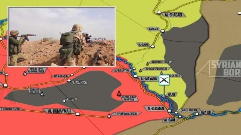 Сирия. ИГИЛ атаковал правительственную армию через позиции проамериканских Курдов