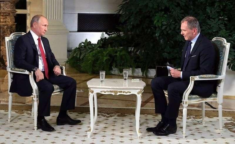 Текст боя Владимира Путина с австрийским телеканалом ORF.
