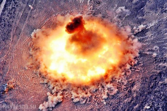 Сирия, Идлиб: мощными ударами авиации уничтожены объекты боевиков США