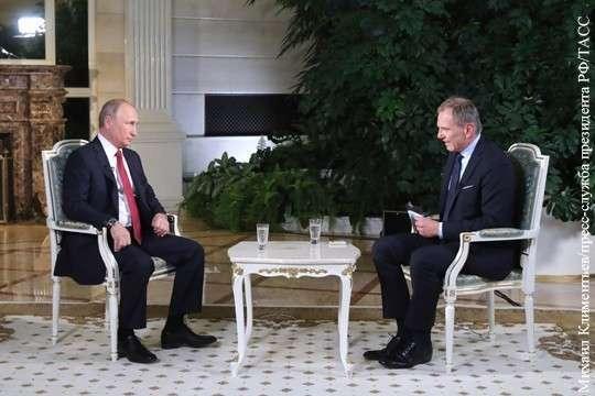 Западному зрителю очень не хватает здравомыслия Владимира Путина
