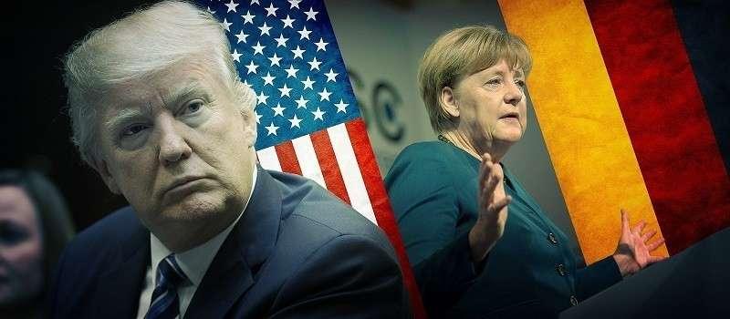 Переговоры Трампа и Меркель – это охота на охотника