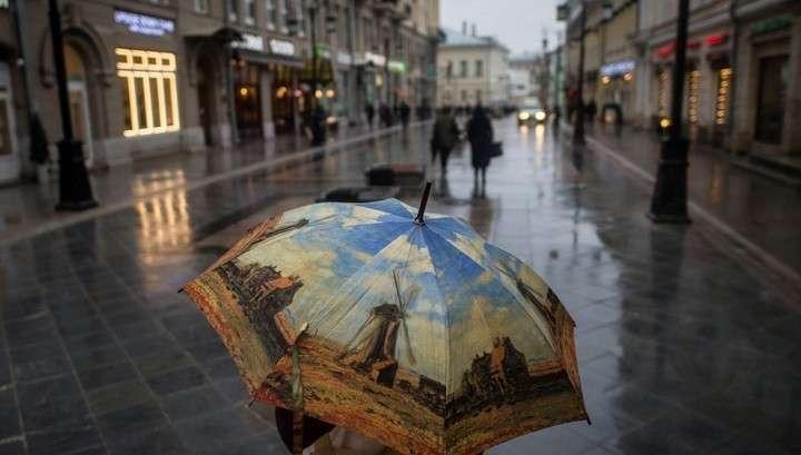В Москве осень неожиданно опять сменила лето