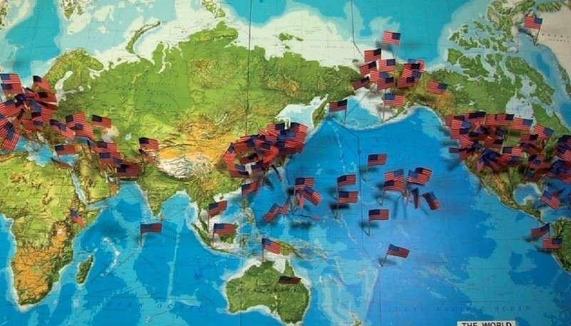 В Пентагоне сравнили военные базы России и США, и прослезились