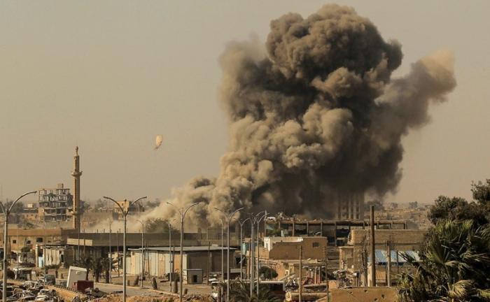 Amnesty International обвинила США и их коалицию бандитов в убийстве мирных жителей Ракки
