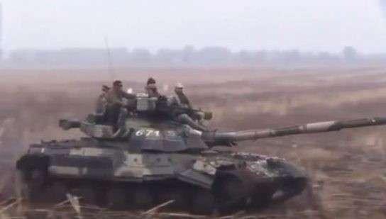 Россия отправляет в Арктику реактивные танки Т-80БВМ