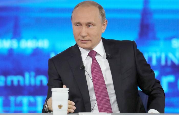 Прямая линия с Владимиром Путиным. Онлайн