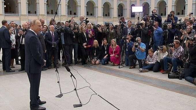 Ответы навопросы журналистов поитогам «Прямой линии»