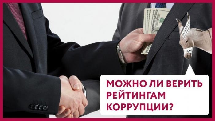 Рейтинги коррупции в России и других странах. Как их делают и с какой целью?