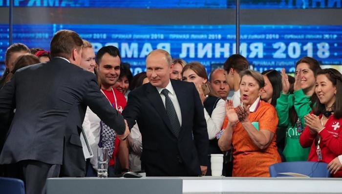 Главные ответы «прямой линии» Владимира Путина