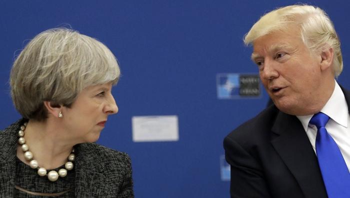Дональд Трамп грубо послал Мэй на G7, сообщили СМИ