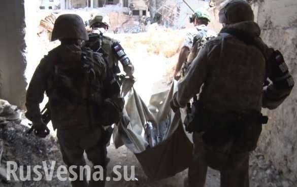 Сирия: Работа спецназа России в руинах Восточной Гуты | Русская весна