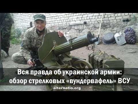 Обзор стрелковых «вундервафель» карателей ВСУ