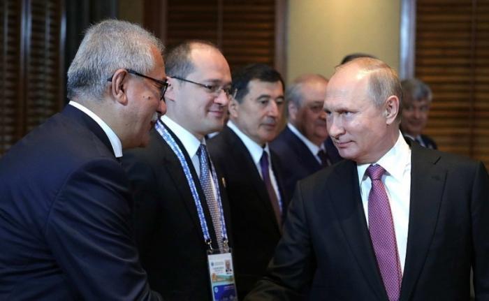 Встреча сПрезидентом Узбекистана Шавкатом Мирзиёевым