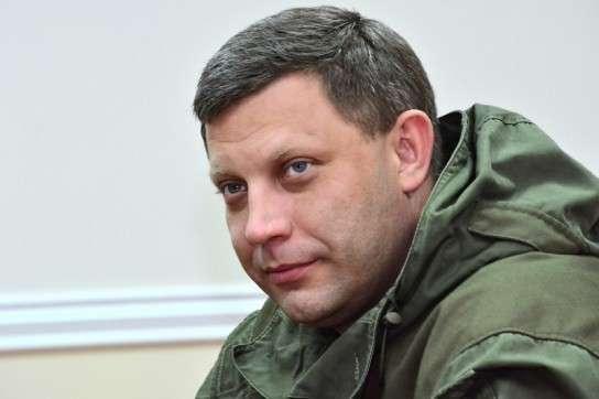 Глава ДНР Александр Захарченко назвал примерные сроки окончания конфликта в Донбассе