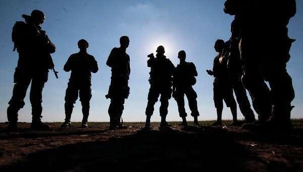 Солдаты украинской армии, архивное фото