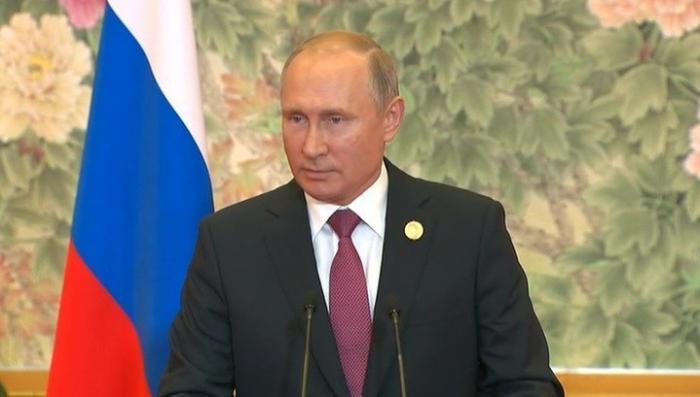 Выступление Владимира Путина на пресс-конференции по итогам визита в Китай