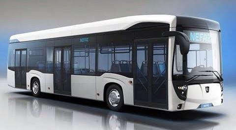 Новый электробус КамАЗ-6282: 15 минут заряда – на сто километров пути