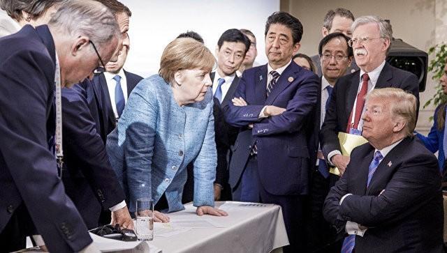 Дональд Трамп наотрез отказался подписывать итоговый документ саммита G7