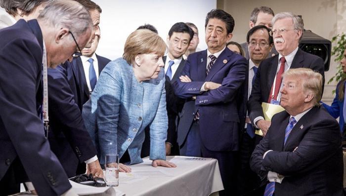 Мария Захарова прокомментировала рассмешившее соцсети фото с G7