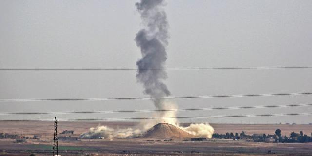 В Сирии коалиция бандитов во главе со США разбомбила школу, убиты около 20 женщин и детей