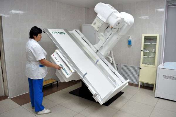 телеуправляемый рентгенодиагностический комплекс производства научно-исследовательской производственной компании «Электрон», установленный в томском НИИ кардиологии
