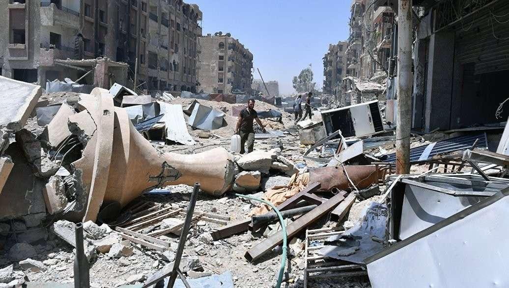 В Сирии коалиция бандитов США разбомбила деревню, есть погибшие