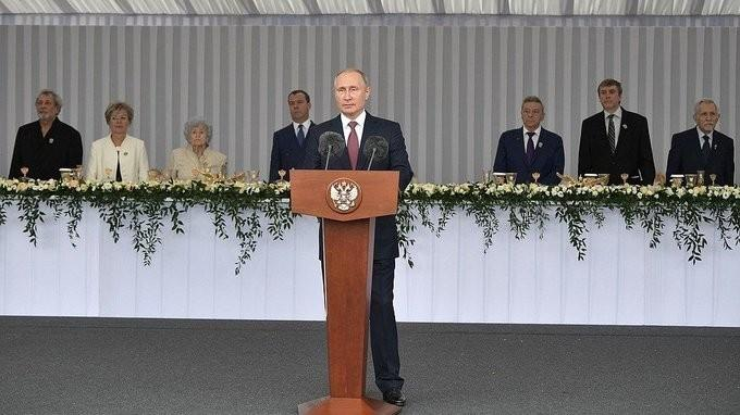 В Кремле состоялся торжественный приём по случаю – Дня России