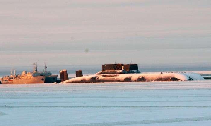 «Акула» против Америки. Несколько фактов о самой большой подводной лодке в мире
