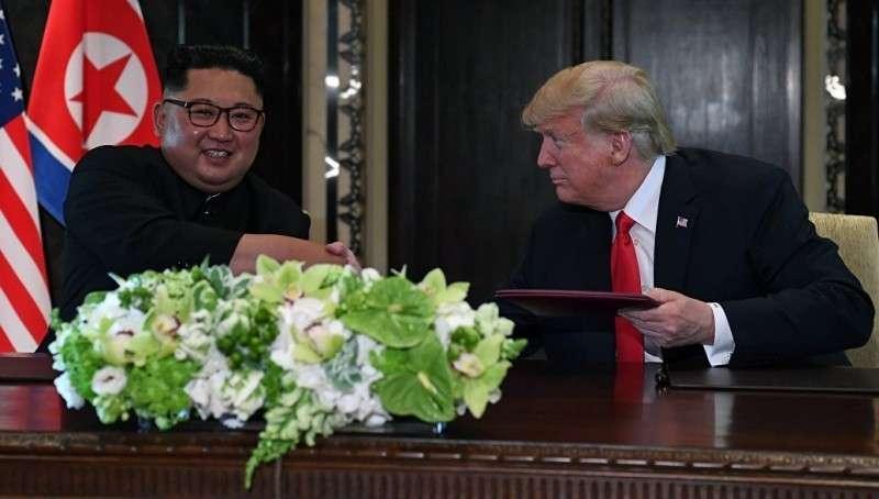 Трамп ласково назвал Ким Чен Ына «забавным и прекрасным парнем»